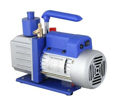 2 Stage Rotary Vane Electric Vacuum Pump Air Conditioning 110V at 4CFM HVAC