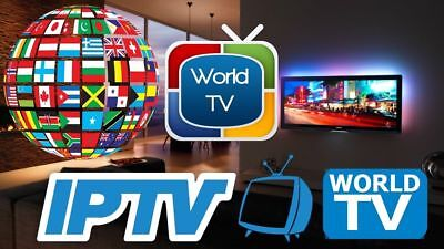 IPTV SUBSCRIPTION 3MONTHS Gift Worldwide 6000+Channels+Vod+Adult