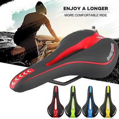 MTB Bicycle Cycle Bike Saddle Road Mountain Sports Soft Cushion Gel Pad Seat New
