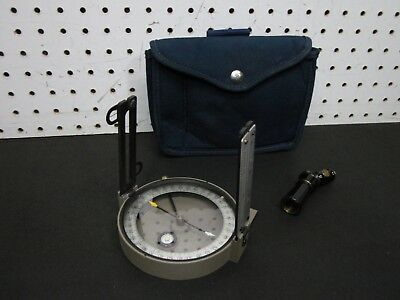Warren-Knight Forestry Staff Compass no 140 with Case Extras