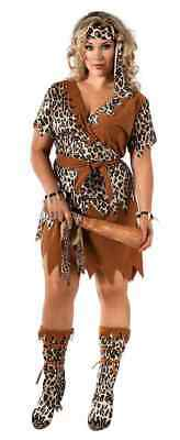 Cave woman adult teen costumes can