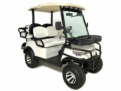 BOSS Dominator 4 Seat Lifted All Terrain Golf Cart - Brand New