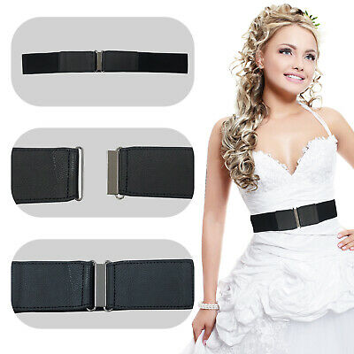Women Ladies Thin Skinny Glitter Type Belt PVC Rectangular Buckle Casual Wear