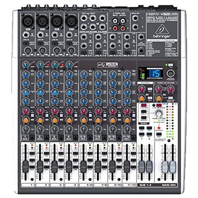 SEHR GUT Mischpult Behringer XENYX X1622USB 16-Kanal 2/2Bus Mixer XENYX Preamps