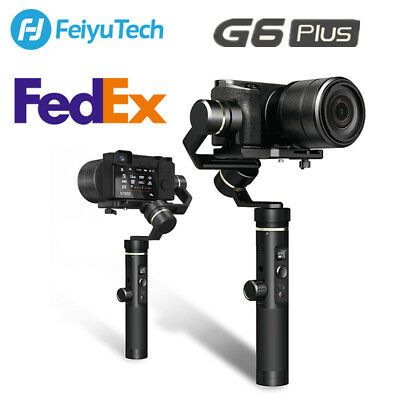 Feiyu G6 Plus 3-Axis Handheld Gimbal Stabilizer for Gopro Camera Smartphone DSLR