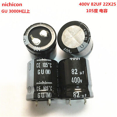 10pcs 560uF 400V Japan Nichicon GU 35x45mm 400V560uF Snap-in Capacitor