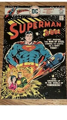 Superman #300 (1976) DC Comics Superman 2001 Exc Cond