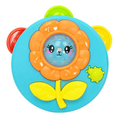 1Pcs Light Music Tambourine Hand Rattle Early Educational Baby Toys for Kids Hot
