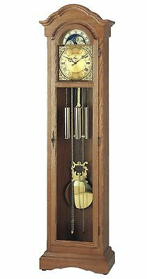 Grandfather clock oak from AMS AM S2021/4 NEW
