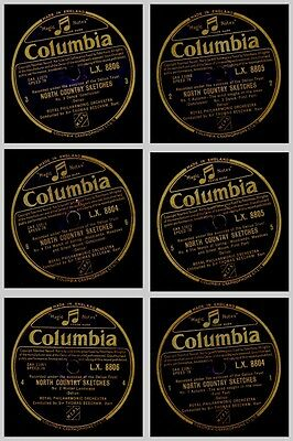 ROYAL PHILHARMONIC ORCH. & BEECHAM Delius: North Country Sketches  78rpm  GS835