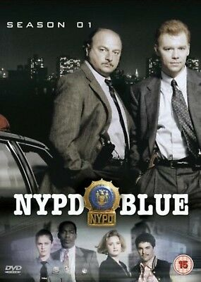 NYPD BLUE - Series 1 Complete 2003 All Episode First Season New UK Region 2 DVD