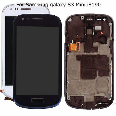 For Samsung Galaxy S3 mini i8190 Touch Screen LCD Display Digitizer with Tools