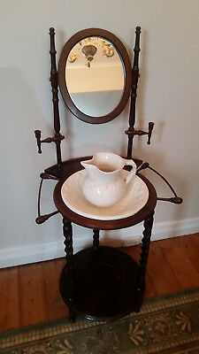 Reproduction Antiques Bathroom Washstand