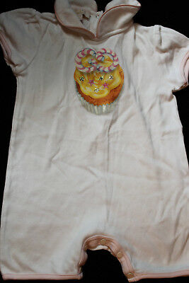 Gucci Baby 9-12 baby grow summer girl all in one rompers