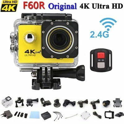 4K Ultra HD 1080P Wifi Wireless ActionCam Video Kamera Helmkamera Wasserdicht DV