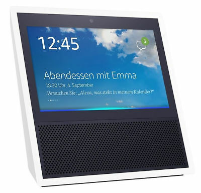 Amazon Echo Show Sprachgesteuerter Smart Assistant Weiß Display Alexa NEU OVP