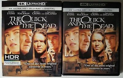 The Quick And The Dead 4K Ultra Hd Blu Ray 2 Disc Set + Slipcover Sleeve Classic