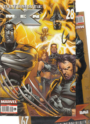 ULTIMATE  X-MEN:  Nºs   28.  29.    ( LOTE 2 NUMEROS)  EDITORIAL  PANINI.