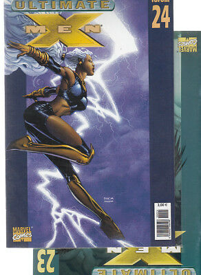 ULTIMATE  X-MEN:  Nºs   24.  23   ( LOTE 2 NUMEROS)  EDITORIAL  PANINI.