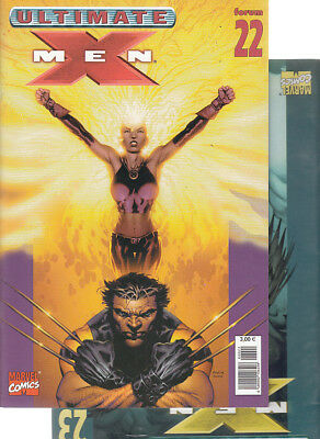 ULTIMATE  X-MEN:  Nºs   22.  23   ( LOTE 2 NUMEROS)  EDITORIAL  PANINI.