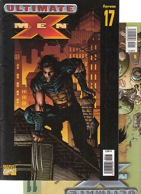 ULTIMATE  X-MEN:  Nºs  11.   17 .   ( LOTE 2 NUMEROS)  EDITORIAL  PANINI...
