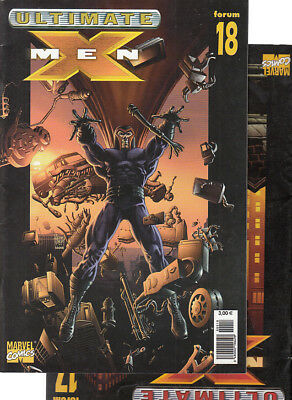 ULTIMATE  X-MEN:  Nºs  17.   18 .   ( LOTE 2 NUMEROS)  EDITORIAL  PANINI.