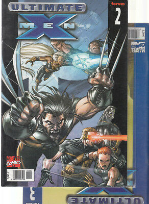 ULTIMATE  X-MEN:  Nºs  2.  3   ( LOTE 2 NUMEROS)  EDITORIAL  PANINI.