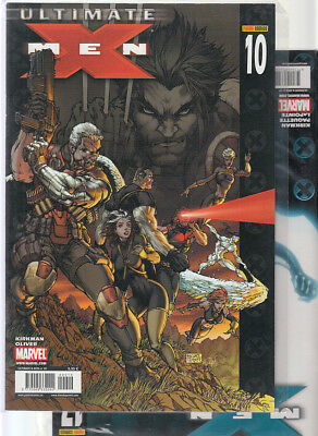 ULTIMATE  X-MEN: VOL. 2  Nºs  10. 17    ( LOTE 2 NUMEROS)  EDITORIAL  PANINI.