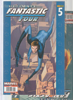 ULTIMATE FANTASTIC FOUR : Nºs  5.  6.    ( LOTE 2 NUMEROS)  EDITORIAL  PANINI.