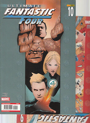 ULTIMATE FANTASTIC FOUR : Nºs  9. 10 .    ( LOTE 2 NUMEROS)  EDITORIAL  PANINI.