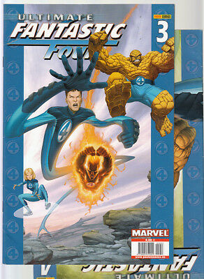 ULTIMATE FANTASTIC FOUR : Nºs  3.  4.    ( LOTE 2 NUMEROS)  EDITORIAL  PANINI.