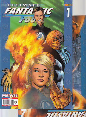 ULTIMATE FANTASTIC FOUR : Nºs   1.  2.   ( LOTE 2 NUMEROS)  EDITORIAL  PANINI...