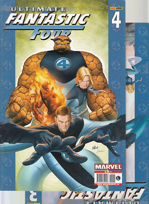 ULTIMATE FANTASTIC FOUR : Nºs   3.  4.   ( LOTE 2 NUMEROS)  EDITORIAL  PANINI...