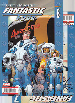 ULTIMATE FANTASTIC FOUR : Nºs   7.  8.   ( LOTE 2 NUMEROS)  EDITORIAL  PANINI...