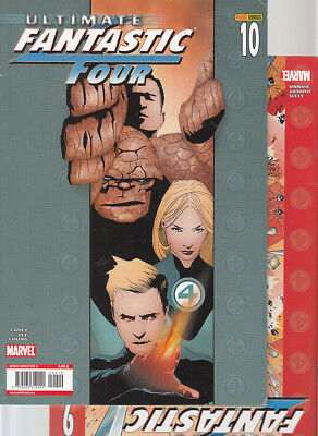 ULTIMATE FANTASTIC FOUR : Nºs   9.  10   ( LOTE 2 NUMEROS)  EDITORIAL  PANINI...