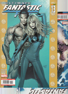 ULTIMATE FANTASTIC FOUR : Nºs   13. 14   ( LOTE 2 NUMEROS)  EDITORIAL  PANINI...