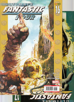 ULTIMATE FANTASTIC FOUR : Nºs   16. 17   ( LOTE 2 NUMEROS)  EDITORIAL  PANINI...