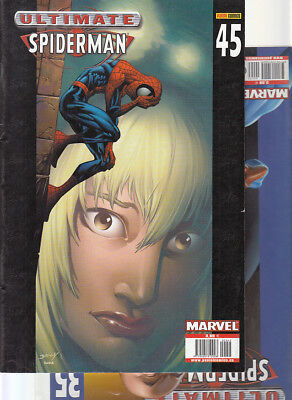 ULTIMATE SPIDERMAN:   Nºs   35.  45   ( LOTE 2  NUMEROS)  EDITORIAL  PANINI...