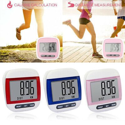 High Quality  Step Counter Pedometer Exercise Monitor Walking Calories Counter