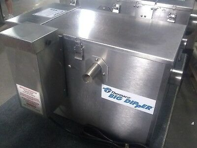 Thermaco Big Dipper W-250-IS Automatic Grease Interceptor 2000 series