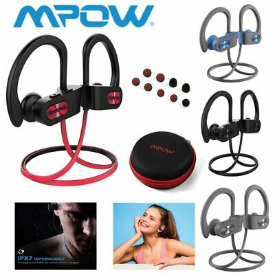 Mpow Wireless Bluetooth Headset Headphones Sport Sweatproof Stereo Earbuds Gym