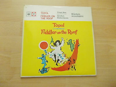 Fiddler on the Roof   Topol   Musical CBS 70030 mit 2 Booklets