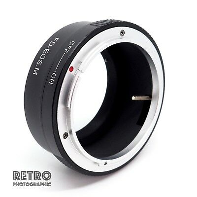 FD-EOS.M Canon FD Lens to Canon EOS M Mount Adapter Ring - UK Stock