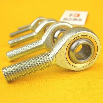 4Pcs Pack POSA8 SA8T/K SAL8T/K Male Threaded Rod End Tie Bearings Link Joint