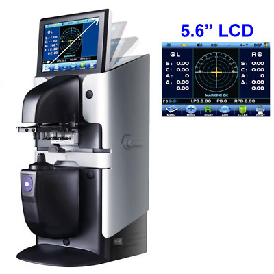 Auto Lensmeter Lensometer with LCD Touch Screen and PD + UV + Printer
