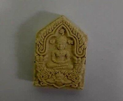 Thai Amulet LP Saen Wat BanNong Jik Talisman Good Luck Secure and Good Fortune