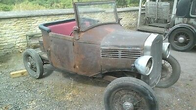 Ford model a / model y ratrod or hotrod barn find project
