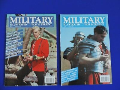Military Illustrated Past & Present Magazines x 2