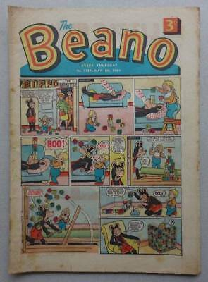 Beano comic FIRST BILLY WHIZZ 1964 #1139 - 16 May G/VG (phil-comics)