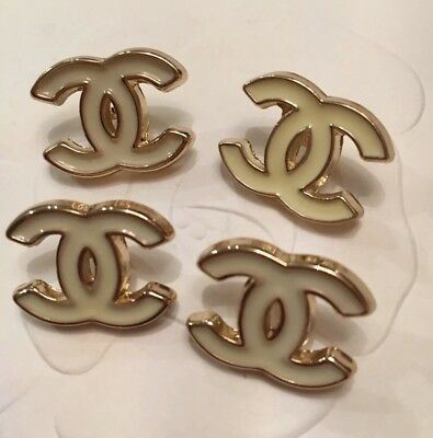 Chanel Buttons 20 MM Set Of 4